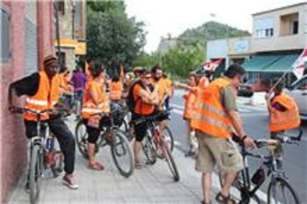 La localidad de Ainsa abraza a los marchistas (5ª etapa)
