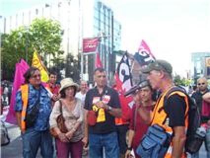 Etapa 28 de agosto de la Marcha (El 7-S Francia en Huelga General)