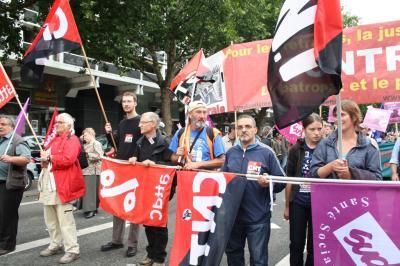 ÚLTIMA ETAPA DE LA MARCHA A BRUSELAS (Resistir y luchar)